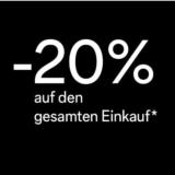 20% auf alles bei C&A