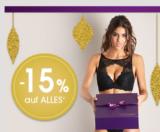 15% Rabatt auf alles bei Lascana