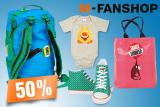 50% auf alles im Migros Fanshop