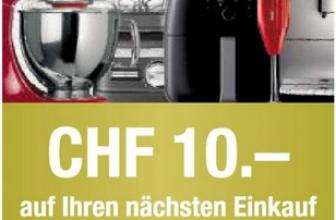 Nettoshop: CHF 10.- Gutscheincode ab CHF 20.- gültig bis am 20.10.2019