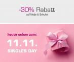 30% Singles Day Rabatt auf alles beim Jelmoli-Versand