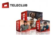 I vostri pacchetti gratis per 3 mesi da Teleclub