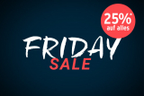 TCHIBO FRIDAY SALE 25% RABATT