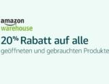 20% auf Warehousedeals bei Amazon, z.B. Canon Pixma MX925 All-in-One Farbtintenstrahl-Multifunktionsgerät ab EUR 83.46 statt EUR 104.32