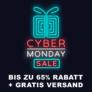 Cyber Monday Sale bei geschenkidee.ch – bis zu 65% Rabatt auf ausgewählte Geschenke