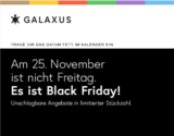 Live Shopping Deals bei Galaxus