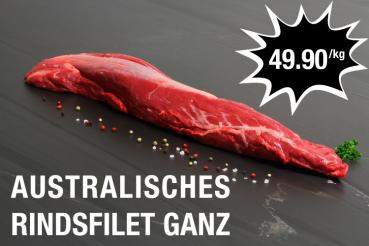 Australisches Rindsfilet 49.90 CHF/kg bei meat4you