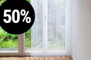 Bis 50% auf Massvorhänge von vorhangbox.ch